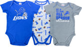 Gerber Babies' Detroit Lions 3-pack Bodysuit