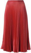 Vanessa Bruno pleated mid skirt
