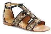 Alberto Fermani Women's Alicia Genuine Snakeskin Sandal