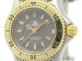 Tag Heuer Sel Professional WG1420 Gold Plated Steel 24mm Womens Watch