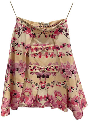 Temperley London Pink Cotton Skirts