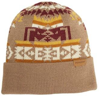 Pendleton Knit Beanie (Chief Joseph Khaki) Beanies
