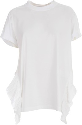 N°21 N.21 Jersey T-shirt W/side Rouches