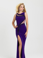 Madison James - 16-391 Dress in Purple