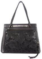 Valentino Leather Floral Demetra Bag