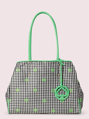 Kate Spade Everything Gingham Large Tote