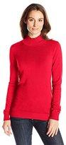 Calvin Klein Women's Essential Mock Neck Sweater