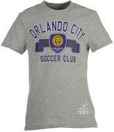 adidas Girls' Orlando City SC Middle Logo Scarf T-Shirt