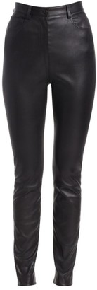 The Row Kate Leather Pants
