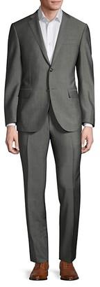 Corneliani Classic-Fit Virgin Wool Mohair Suit