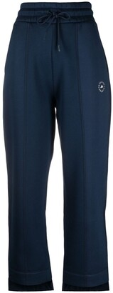 adidas by Stella McCartney Logo-Print Tapered Sweatpants