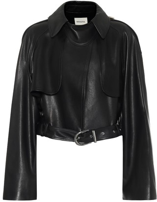 KHAITE Krista leather jacket