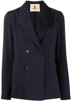 Barena long sleeve double buttoned blazer