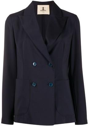 Barena Long Sleeve Double Buttoned Blazer