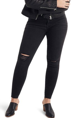 Madewell 9-Inch Mid Rise Skinny Jeans