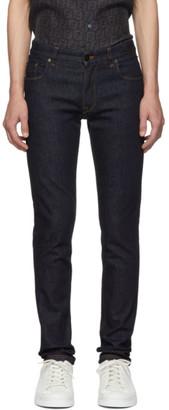 Fendi Blue Forever Pocket Jeans
