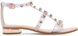 Sophia Webster 20mm Dina Embellished Plexi Sandals
