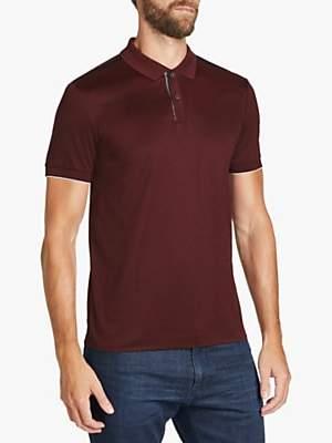 HUGO BOSS BOSS Phillipson 60 Slim Fit Polo Shirt, Dark Red