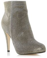 Dune Ladies ROXIE Concealed Platform High Heeled Ankle Boot in Gold Size UK 5