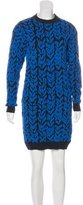 Balenciaga Long Sleeve Sweater Dress