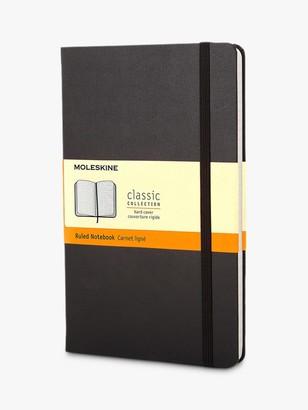 Moleskine Large Hard Cover Ruled Notebook