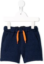 Fendi FF embroidered drawstring shorts