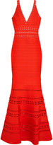 Herve Leger Cutout bandage gown
