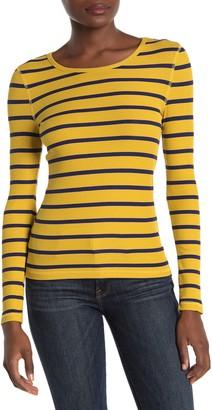 Elodie K Ribbed Striped Long Sleeve Shirt