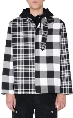 Palm Angels Patchwork Check Jacket