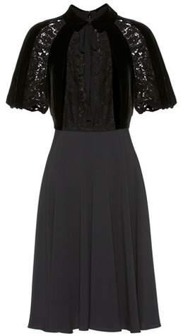 Valentino Velvet and lace dress