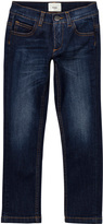 Fendi Mid Wash Jeans with Monster Embroidered Back Pocket