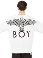 Boy London Boy Eagle Printed Cotton Sweatshirt