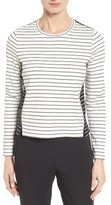 Nordstrom Women's Mix Stripe Top