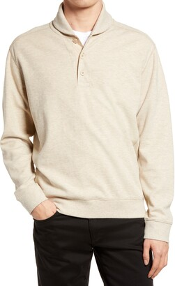 Vince Shawl Collar Slim Fit Pullover