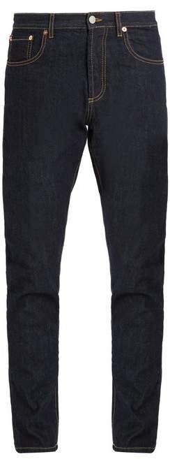 MAISON KITSUNÉ Classic five-pocket cotton-denim jeans
