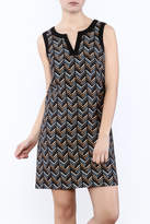 Jade Herringbone Dress