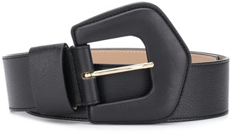 B-Low the Belt Pebbled-Effect Buckled Belt