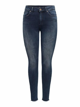 Only Women's ONLBLUSH Life MID SK ANK RAW REA409 NOOS Pants