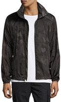 Ralph Lauren Nylon Camo Track Jacket, Dark Green