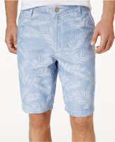 "Tommy Bahama Men's Palm-Print 10"" Shorts"