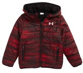 Under Armour Boy's Speedlines Coldgear Reversible Puffer Jacket