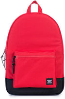 Herschel Red Black Two-Tone Settlement Backpack 23 L