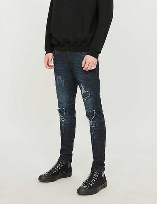 Represent Biker tapered jeans