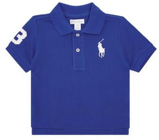 Ralph Lauren Kids Big Polo Pony Polo Shirt (9-24 Months)