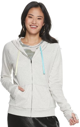 So Juniors' Raglan Favorite Zip Up Hoodie