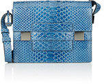 Delvaux Women's Python Madame PM Shoulder Bag
