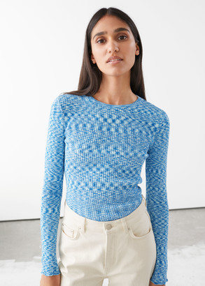 And other stories Organic Cotton Lyocell Blend Sweater