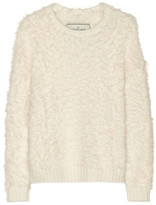 Blondy textured knitted sweater