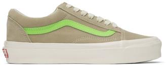 Vans Green OG Old Skool LX Sneakers