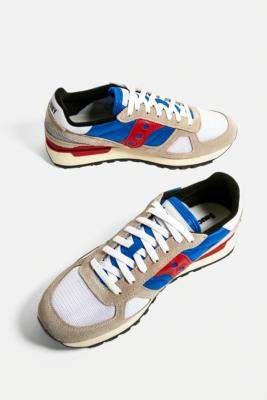 Saucony Shadow 5000 Grey and Blue Trainers - assorted UK 8 at Urban Outfitters